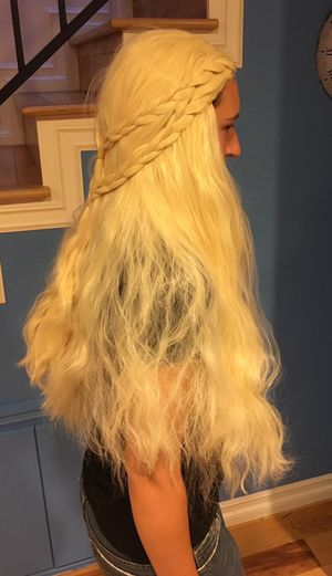White Blonde Wig for Sale in Los Angeles, CA