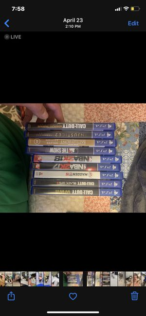 Ps4 games, msg what interested in for Sale in Aurora, CO