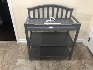 Gray changing table for Sale in National City, CA