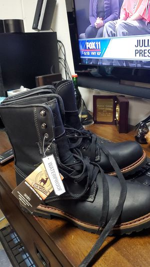 New leather Elkwoods work boots size 13 for Sale in Lake View Terrace, CA
