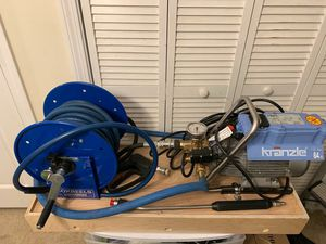 HIgh Quality Electric German Pressure Great Pressure washer. Great Investment will last a life time for Sale in Dedham, MA