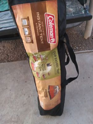 Coleman Instant Tent 10ft x 9 ft 6 Person for Sale in Gonzales, CA