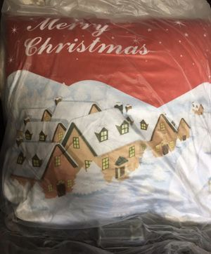 Merry Christmas Snow LED Pillow for Sale in San Diego, CA