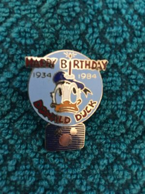Disney Donald Duck anniversary pin for Sale in Henderson, NV