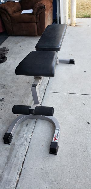 Adjustable weight lifting Bench for Sale in Downey, CA