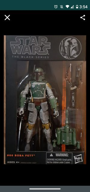 "New Star Wars ""The Black Series"" Boba Fett Action Figure. for Sale in Longwood, FL"