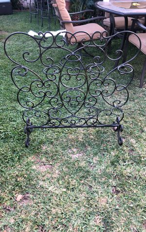 Iron 11 candle holder rack for Sale in Baldwin Park, CA