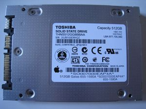 Toshiba Apple laptop SSD 512Gb SATA HD fits Win PC for Sale in New York, NY