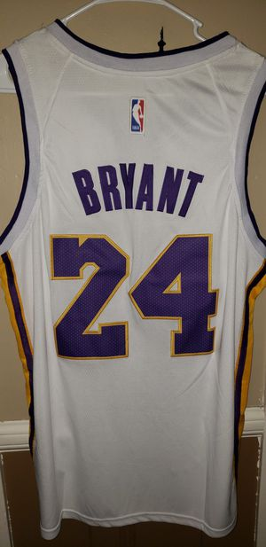 New!!! Men's Medium Kobe Bryant Los Angeles Lakers Jersey New with Tags Stiched Nike $45. Ships +$3. Pick up in West Covina for Sale in West Covina, CA