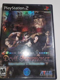 Devil Summoner Raidou Kuzunoha Vs The Souless Army for Sale in Fresno,  CA