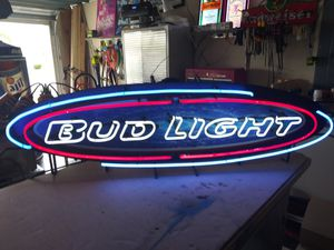 BUD LIGHT NEON for Sale in Mulberry, FL