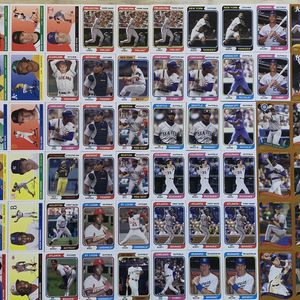 96 Lot 2020 Topps Archives HOF Legends, Griffey, Mays, Jackie Robinson, Gurrero. for Sale in Victorville, CA