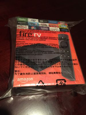 Brand New Amazon Fire Tv 4K for Sale in Rancho Cucamonga, CA