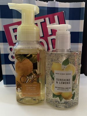Bath and Body Works Sunshine and Lemon Set for Sale in Los Angeles, CA