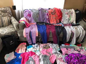 Girl clothes/ kids clothes size Medium/ girl clothes size Medium for Sale in Whittier, CA