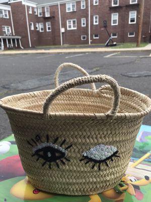 Wicker basket for Sale in Nutley, NJ