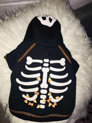 Dog Halloween hoodie size small for Sale in Moreno Valley, CA