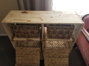 6Cube wood storage unit for Sale in Philadelphia, PA