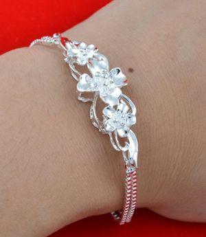 Fashion 925 Sterling Silver Link Chain Bracelet for Sale in Wichita, KS
