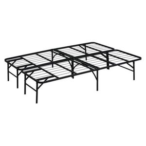 Tempo Collection 14in High Profile Platform Smart Base Bed Frame with Foam Mattress, Full Size for Sale in Fountain Valley, CA
