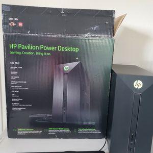 HP Pavilion Desktop 580-137c AMD Ryzen 7 1700 for Sale in Berkeley, CA