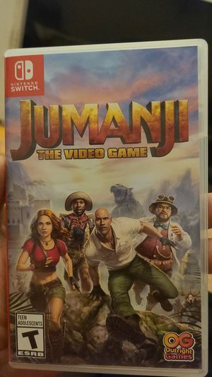 Jumanji the video game for Nintendo switch for Sale in Los Angeles, CA