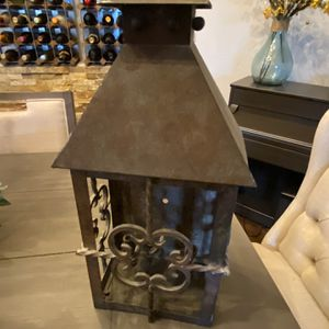 Farmhouse Metal Latern for Sale in Gilbert, AZ
