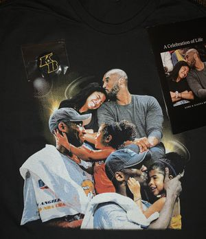 Kobe memorial shirt, program, and Patch for Sale in Whittier, CA