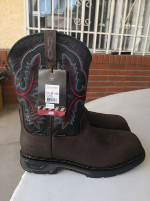 Brand new ariat carbon toe work boots size 11.5 for Sale in Riverside, CA