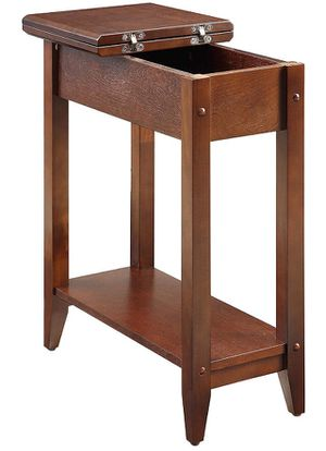 Convenience Concepts 7105059-ES American Heritage Flip Top End Table for Sale in Puyallup, WA