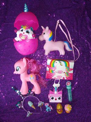 Unicorn ponys toys for Sale in Pico Rivera, CA