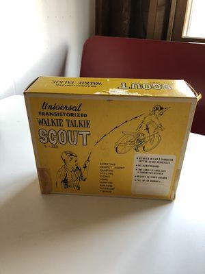Vintage Scout Walkie Talkie for Sale in Toledo, OH