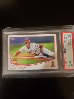 Mike Trout Rookie card topps PSA 10 for Sale in Irwindale, CA