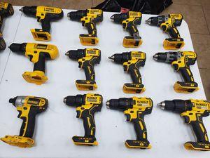 Dewalt drills from $35 -$65 depending on which one for Sale in Fort Worth, TX