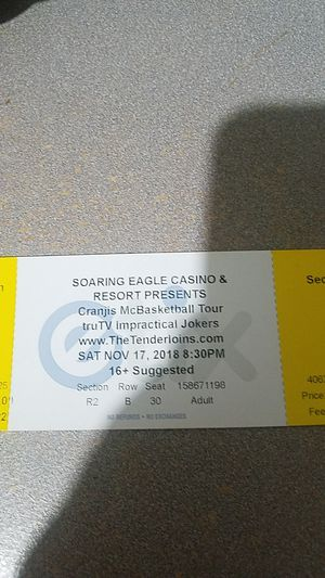 Impractible jokers ticket for Sale in Mount Pleasant, MI