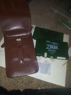 Zelda edition Nintendo 3DS leyher holder and styles for Sale in New Franklin, OH