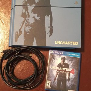 PS4 Limited Uncharted Edition w/ Uncharted 4 Game for Sale in Hialeah, FL
