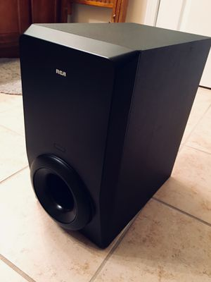 RCA RTD615i 120w Surround Sound Home Theater Sub Bass Subwoofer Speaker for Sale in Pineville, NC