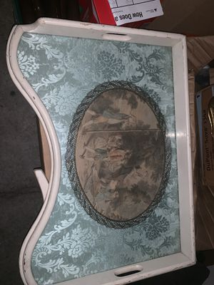 Vintage dinner tray for Sale in San Antonio, TX