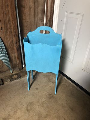 Tall Wooden Magazine Rack for Sale in Houston, TX