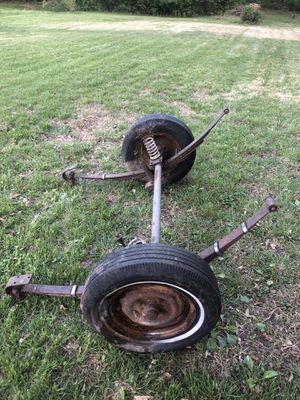 trailer axle with rims for Sale in Arnold, MO