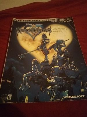 Kingdom Hearts strategy guide for Sale in Kingsport, TN