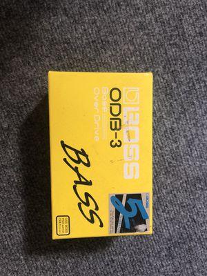 Boss ODB-3 bass pedal for Sale in Denver, CO