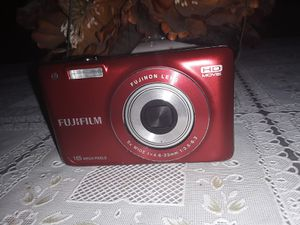 Fujifilm JX580 Digital Camera New Without Box Camera And Battery Only 16MP Red for Sale in Glendale, AZ