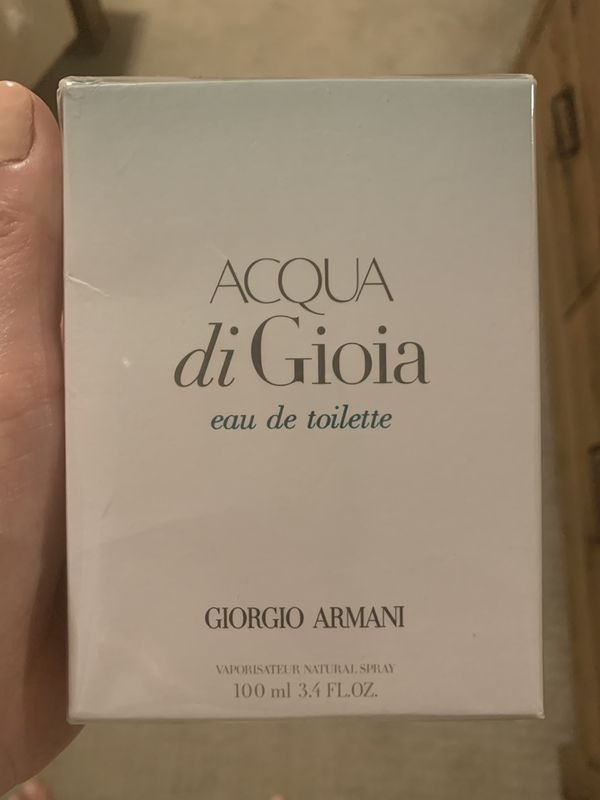 Sealed Giorgio Armani Acqua di Gioia 3.4Oz