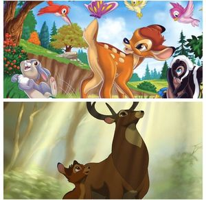 Bambi PART 1 & 2 DVDS for Sale in Victorville, CA