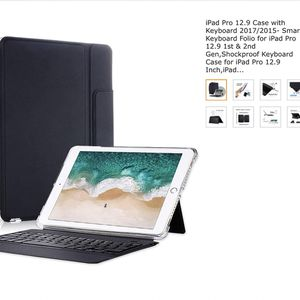 IPad Pro 12.9 Case with Keyboard 2017/2015- Smart Keyboard Folio for Sale in Winston-Salem, NC