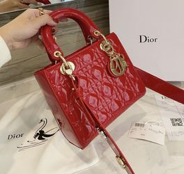 Red Patent Leather Lady D Crossbody Bag for Sale in Berkeley,  CA