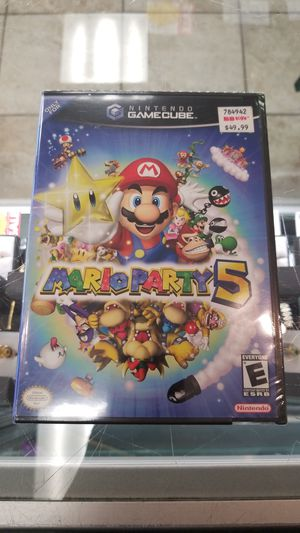 Sealed mario party, gamecube and ps2 bundle for Sale in Gaithersburg, MD