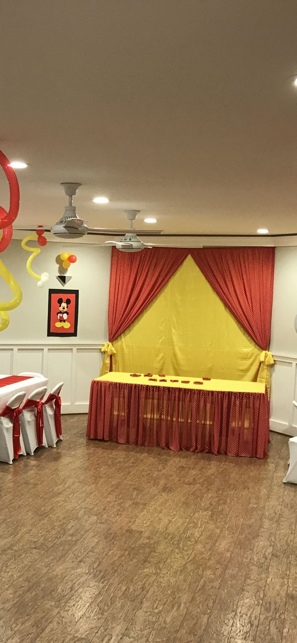 Mickey Mouse theme decoration
